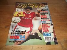 Football Magazine World Soccer March 1991 Manchester United Baresi France Baggio