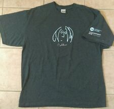 HARD ROCK John Lennon 2008 Hungerthon Imagine There's No Hunger t shirt Size XL