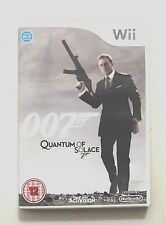 007 QUANTUM OF SOLACE WII PAL