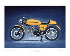 "Ducati 750 Sport (1973) - Limited Edition Art Print 20""x16"" by Steve Dunn"