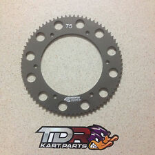 GO KART - SPROCKET 75T  #219 PITCH  6061-T6 HARD ANODISED