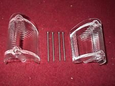 1968 1969 FORD FAIRLANE TORINO RANCHERO FRONT PARKING LIGHT LENS SET PAIR NEW