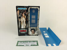 "custom Vintage Star wars esb 12"" princess leia hoth box + inserts"