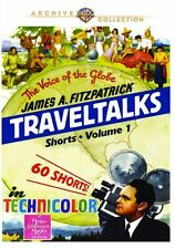 JAMES A. FITZPATRICK TRAVELTALKS SHORTS: VOLUME 1- Region Free DVD - sealed