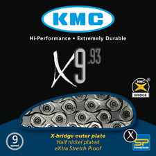 KMC X9.93 9-SPEED STRETCH-PROOF BIKE CHAIN ROAD MTB fits SRAM SHIMANO CAMPY NEW