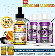 Suero Mango Africano + Acai oro Desintoxicación más Fuerte Legal Dieta Píldoras Para Adelgazar/Alt