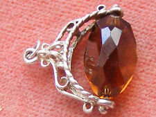 VINTAGE STERLING SILVER CHARM SPINNING FOB