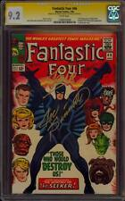 FANTASTIC FOUR 46 CGC 9.2 2X SS STAN LEE JOE SINNOTT 1ST BLACKBOLT INHUMANS RARE