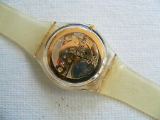 1991  Watch Swatch Golden Jelly collector club #1 watch