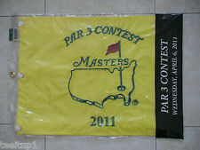 2011 PAR 3 THREE CONTEST MASTERS GOLF PIN FLAG AUGUSTA NATIONAL LUKE DONALD WINS