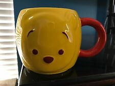 Winnie the Pooh Bear Tsum Tsum Ceramic Mug Coffee Cup Disney Store Exclusive NEW
