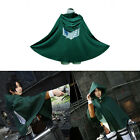 Shingeki no Kyojin Cloak Cape Clothe Attack on Titan Anime Cosplay Costume Party
