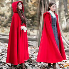 Womens Coat Overcoat Vintage Chinese style Mori girl Winter Lolita Sweet Cloak