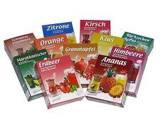türkischer Apfeltee - 11 Sorten - Instant Tee-Pulver -  Probierpaket