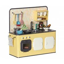 Maileg Toy Retro Metal Kitchen with Utensils NEW!