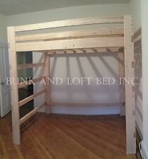 Extra Tall Supreme Queen Size Loft Bed With 1000lbs Weight Capacity