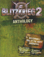 BLITZKRIEG 2 ANTHOLOGY Blitzkreig II + Fall of the Reich + Liberation PC GameNEW