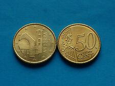 RARE ***  50 CENTIMES EURO ANDORRE 2014 unc