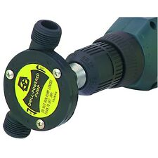 DRILLMASTER Drill Powered Water Pump Plumbing Garden Hose Thread