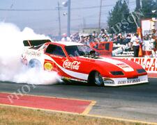 FUNNY CAR PHOTO JOHN FORCE DRAG RACING FREMONT 1984 NHRA FIREBIRD