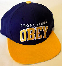 Obey Clothing Snapback Hat Athletics Adjustable Baseball Cap Andre the Giant NWT