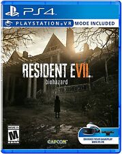 Resident Evil 7 PS VR + Controller Skin for PS4 Pro Console New Ships Fast !!!