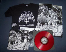 NAKED WHIPPER -Painstreaks LP (Red lim 200 + T-SHIRT) 5x4 Offer Read Description