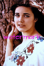"""Lynda Carter 4""""x6"""" young in white dress picture 4""""x6"""" photo portrait k"""
