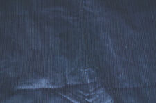 Wide Wale   Corduroy Blue   Cotton Fabric Apparel Solid  Thick and Thin  Bfab