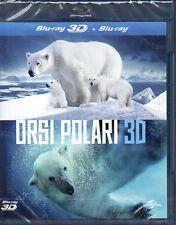 ORSI POLARI - BLU-RAY+BLU-RAY 3D (NUOVO SIGILLATO)