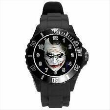 NEW* HOT BATMAN HERO THE JOKER Unisex Black Round Sport Watch Gift