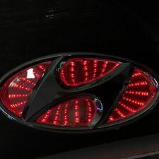 Newest LED logo Light badge for Hyundai  red blue white color USA SHIP