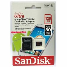 Sandisk Mobile Ultra 128G MicroSDXC Micro SD SDXC SDHC 128GB UHS Class 10 80MB/s