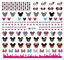 Cute Nail Disney Mickey Mouse Water Nail Art Stickers Nail Decals for Christmas