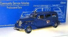 Brooklin CSV.14, Flxible Buick Sterling Ambulance 1939 World's Fair, blue, 1/43