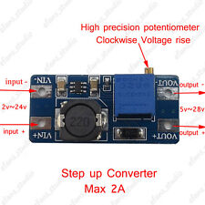 2A DC-DC Boost Step Up Voltage Regulator Power Module 2~24V To 5~28V Adjustable