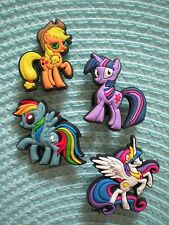 Jibbitz Croc Clog Shoe Plug Button Charms Fit Belt WristBands 4 My Little Pony