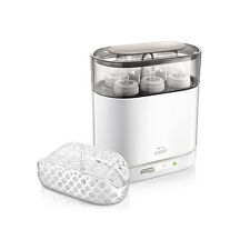 Philips AVENT 4-in-1 Electric Steam Clean Baby Bottle Sterilizer Dishwasher Safe