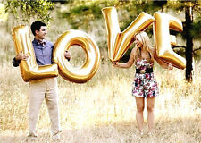 Love Letters Foil Wedding Balloons Wedding Decoration - Gold 40 Inch/100CM