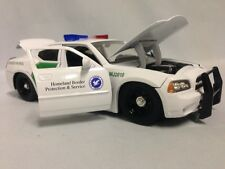 Jada Toys 2006 Dodge Charger Homeland Border Protection Service 1:24 Diecast Car
