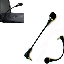Portable 3.5mm Jack Flexible Microphone Mic For PC Laptop Notebook Skype Yahoo