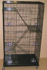 Extra Large 5 level Ferret Chinchilla Sugar Glider Rat Mice Cage 405 BLK 284