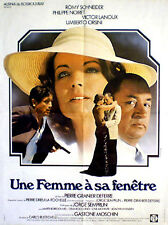 French 1sh Romy Schneider in WOMAN AT HER WINDOW (1976)