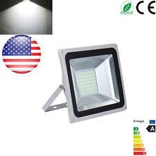 100W HIGH POWER Cool White LED Outdoor Garden Flood Light Lamp SMD IP65 110V