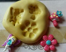 MINI FAIRY Flexible Silicone Mold for polymer clay, wax, candy, fondant, resin