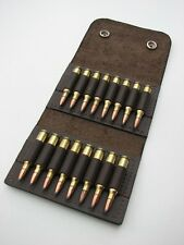 Leather AMMO wallet pouch.222 .223 holds 16 rounds