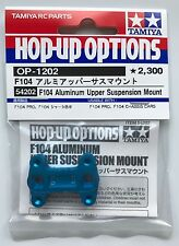 Tamiya 54202 F104 Aluminum Upper Suspension Mount (F104 Pro) NIP