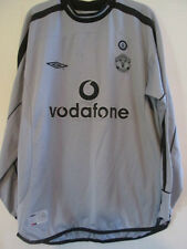 Manchester United 2001-2002 Goalkeeper Football Shirt Medium /37823
