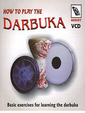 HOW TO PLAY DOUMBEK DARBUKA    CD IN ENGLISH NEW !!!!!!!!