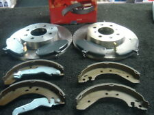 ROVER 200 214 216 400 414 416 418 FRONT BRAKE DISC PADS & SHOES